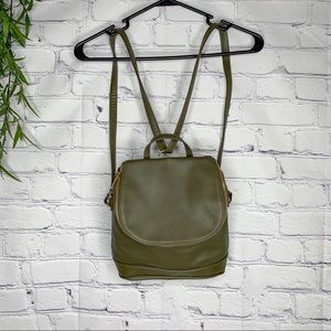 A new day Bedford convertible bookbag olive nwot